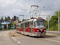 Tramvaj Tatra T3R.PLF v Praze