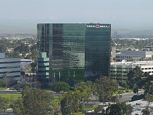 Taco Bell - Taco Bell's former headquarters in Irvine, California
