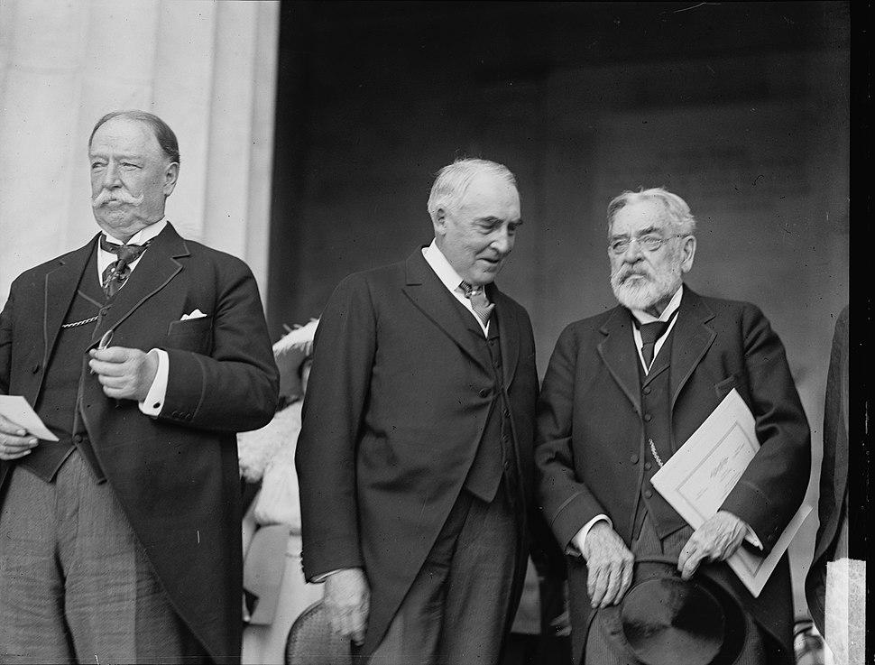 Taft Harding Robert Lincoln 1922