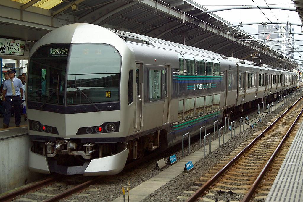 Takamatsu Station Marine Liner M3713