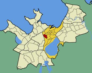 Uus Maailm Subdistrict of Tallinn in Harju County, Estonia