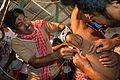 Tapas Dutta Thread Pierces Sushil Panja - Gajan Ritual - Bainan - Howrah 2015-04-14 8102.JPG