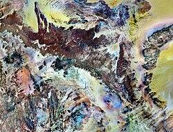 Tassili n'Ajjer National Park NASA Landsat 7 (2000).jpg