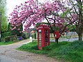 Telephone box, Stedham - geograph.org.uk - 1271519.jpg