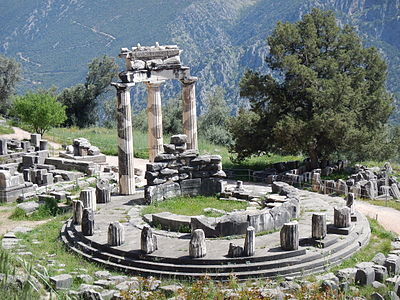 Advanced Unexplained Ruins Found At Delphi? 400px-TempleAtDelphi2015