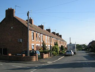 Badsey village in United Kingdom