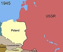 Poland Map 1945