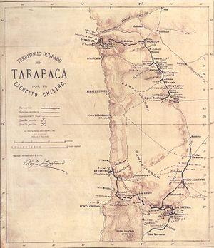 Territorio ocupado en Tarapacá por el ejército chileno (1879).jpg