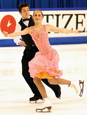 Tessa Virtue - Virtue/Moir at the 2005 Junior World Championships.