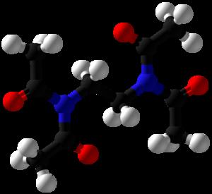 Tetraacetylethylenediamine - Image: Tetraacetylethylened iamine Ball and Stick