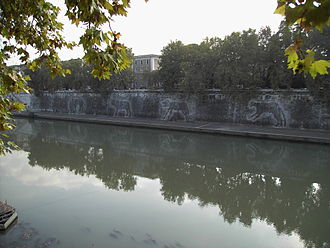 She-wolf (Roman mythology) - The she-wolf on the embankments of the Tiber