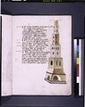 Text with drawing of tower of Babel (NYPL b12455533-426634).tif