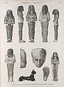 Thèbes. Hypogées. Idoles et fragmens en bois de sycomore peints de diverses couleurs (NYPL b14212718-1268006).jpg