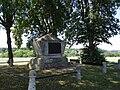 Théophile Malo Corret de la Tour d'Auvergne-Gedenkstein bei Oberhausen bei Neuburg an der Donau.jpg