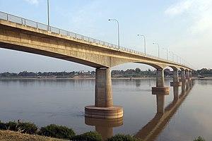 Thai–Lao Friendship Bridge - Image: Thai Lao Friendship Bridge (10729268664)