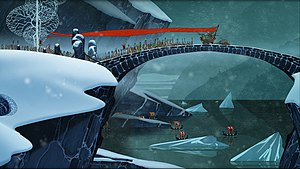The Banner Saga - Concept artwork from the game