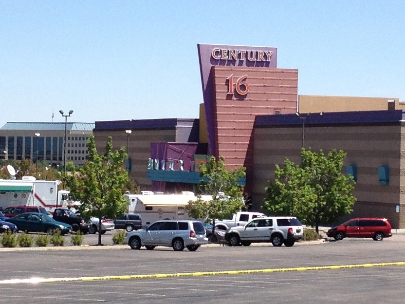 The Century 16 theater in Aurora CO - Shooting location