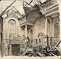 The Church of St Anne and St Agnes, Gresham Street, EC2, 1941 (Art.IWM ART LD 1233).jpg