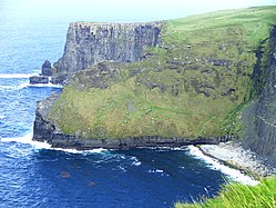 Beautiful cliffs of Moher