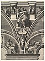 The Delphic Sibyl; from the series of Prophets and Sibyls in the Sistine Chapel MET DP821567.jpg