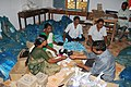 The Election materials being packed at one of the distribution centre in Tamil Nadu for the use in the 5th phase of General Election-2009 to be held on May 13, 2009.jpg