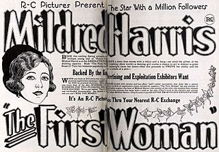 <i>The First Woman</i> 1922 silent film