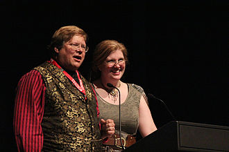 Hugo Award for Best Graphic Story - Phil Foglio and Kaja Foglio accept the 2010 Hugo Award for Best Graphic Story, for Girl Genius.