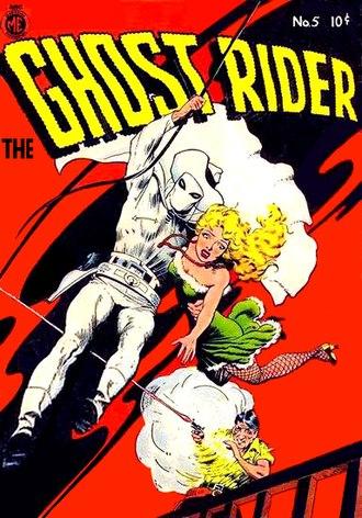 Magazine Enterprises - Image: The Ghost Rider 5 Magazine Enterprises
