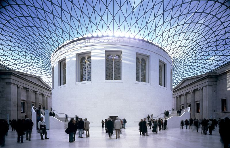 see: British Museum in London