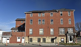 National Register of Historic Places listings in Benton County, Iowa - Image: The Herring Hotel