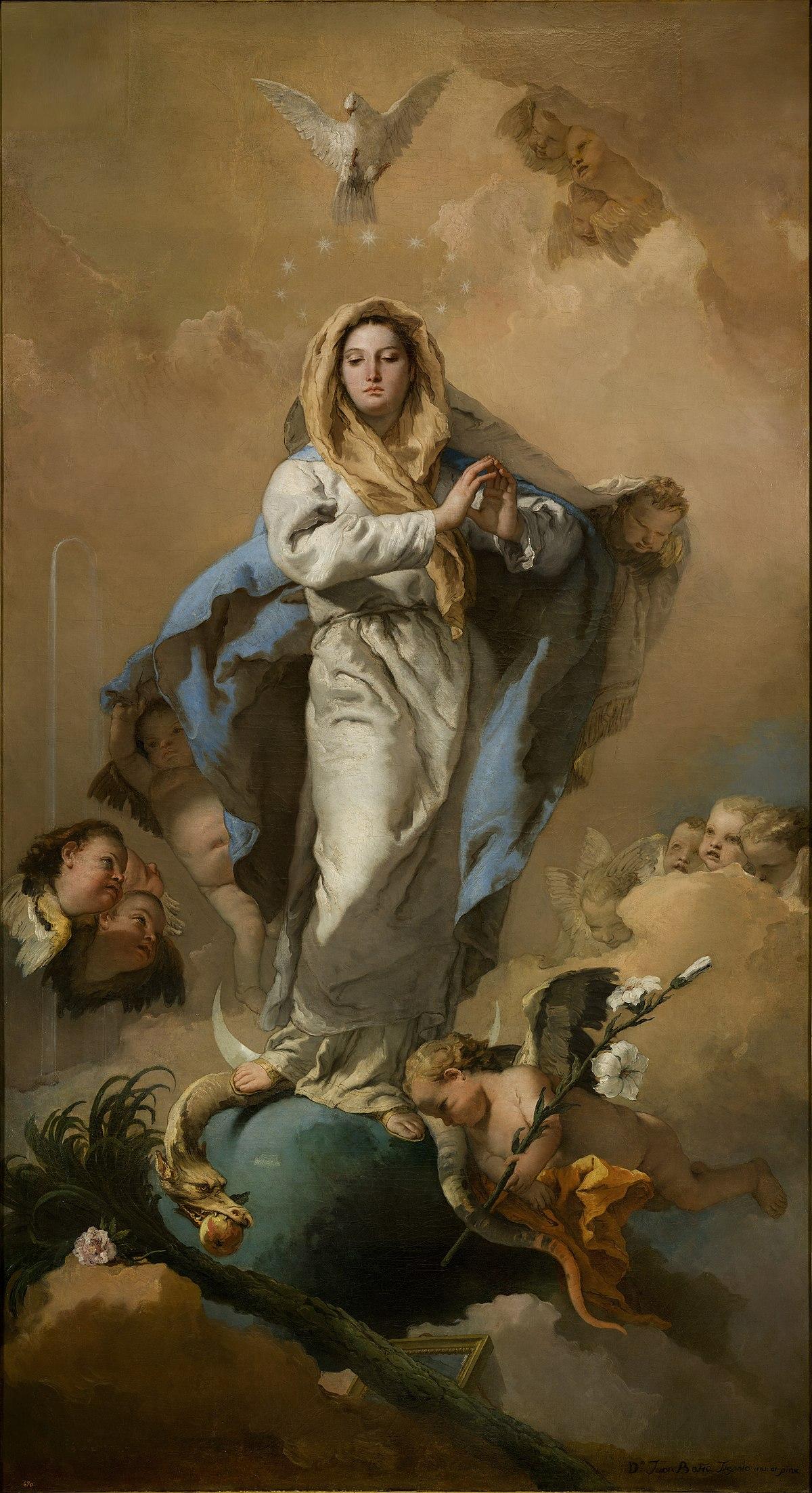 Immacolata Concezione (Giambattista Tiepolo) - Wikipedia