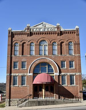 National Register of Historic Places listings in Keokuk County, Iowa - Image: The Masonic Opera House