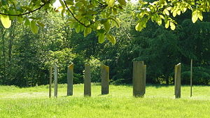 Gatton Park - The Millennium Stones in Gatton Park.