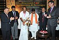 The Minister of State for Agriculture, Consumer Affairs, Food & Public Distribution, Prof. K.V. Thomas lighting the lamp to inaugurate the second International Summit-cum Exhibition on process food.jpg