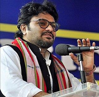 Babul Supriyo Indian popular singer and politician