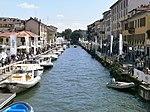 The Naviglio Grande in Milan - 01 - during fiera NavigaMi boat Show - salone nautico NavigaMi.JPG