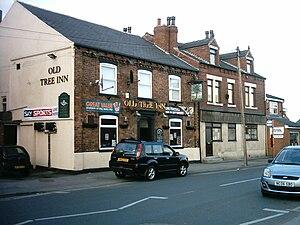 Kippax, West Yorkshire - Image: The Old Tree Inn, Kippax