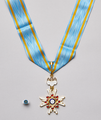The Order of the Sacred Treasure, Gold Rays with Neck Ribbon.png