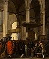 The Oude Kerk in Amsterdam during a Service by Emanuel de Witte Mauritshuis 824.jpg