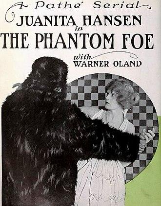 The Phantom Foe - Advertisement