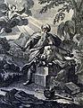 The Phillip Medhurst Picture Torah 119. Abraham sacrificing Isaac. Genesis cap 22 vv 10, 12. Caspar Luyken.jpg