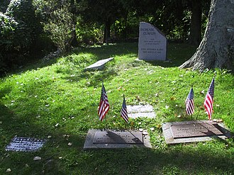 Door County, Wisconsin - Graves of Increase Claflin and family.