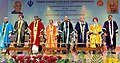 The President, Shri Ram Nath Kovind at the 42nd Convocation of Guru Nanak College, at Velachery, in Chennai on May 05, 2018. The Governor of Tamil Nadu, Shri Banwarilal Purohit and other dignitaries are also seen.JPG