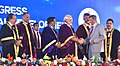 The Prime Minister, Shri Narendra Modi giving away the awards to scientists at the 104th Session of the Indian Science Congress, at Tirupati, Andhra Pradesh (6).jpg