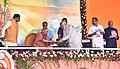 The Prime Minister, Shri Narendra Modi releasing the Souvenir at the Dashamah Soundarya Lahari Parayanotsava Mahasamarpane, in Bengaluru, Karnataka (1).jpg