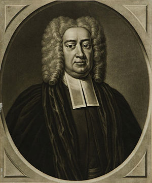 Timothy Cutler - Portrait of Cutler, 1750 by Peter Pelham