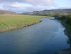 The River Neath near Neath Castle looking towards Tonna. - geograph.org.uk - 195267.jpg
