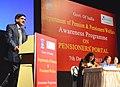 The Secretary (Pension, AR&G), Shri Sanjay Kothari addressing at the Awareness Programme on Pensioners' Portal, in Kolkata on December 07, 2013.jpg