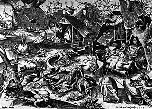 The Seven Deadly Sins - Pieter Brueghel