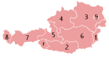 The States of Austria Numbered (transparent).png
